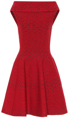 Alaia Jacquard knit dress