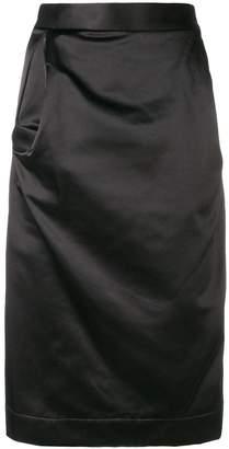 Vivienne Westwood draped pencil skirt