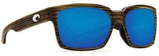 Costa del Mar Women's Playa Polarized Iridium Square Sunglasses