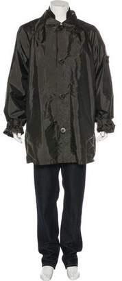 Stone Island Layered Woven Overcoat