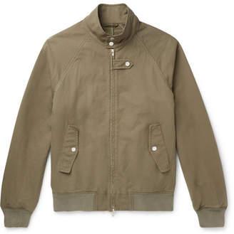Man 1924 Cotton-Blend Twill Bomber Jacket