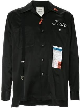 206c2604bb6 Puma Maison Yasuhiro 'Laundry Cleaning' shirt