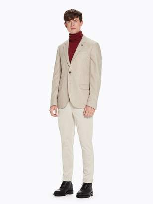 Scotch & Soda Blake - Corduroy Pleated Trousers Regular slim fit