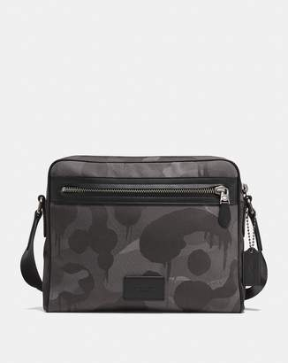 Metropolitan Camera Bag In Cordura® Fabric With Wild Beast Print