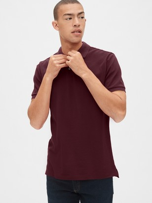 Gap All Day Pique Polo Shirt Shirt