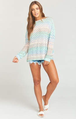 Show Me Your Mumu Pie in the Sky Sweater ~ Rainbow Sorbet