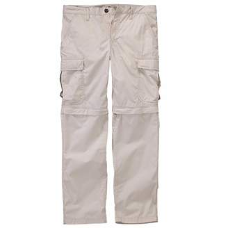 Timberland Men's Ivanhoe Lake Zip-OFF White Cargo Hiking Pants