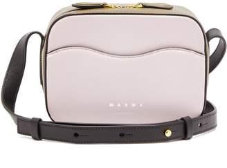 Marni Shell leather shoulder bag