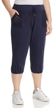 Andrew Marc Plus Cropped Sweatpants