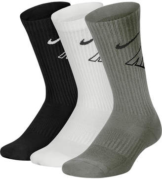 685d635e5 Nike 3-Pk. Cushioned Crew Socks, Little Boys & Big Boys