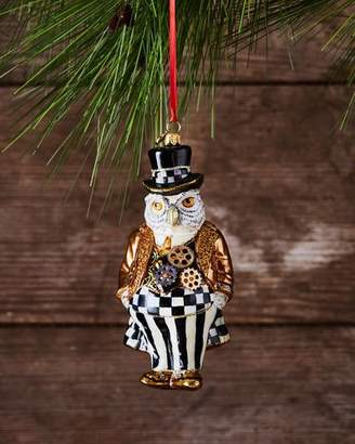 Mackenzie Childs MacKenzie-Childs Steampunk Mr. Fowler Glass Ornament