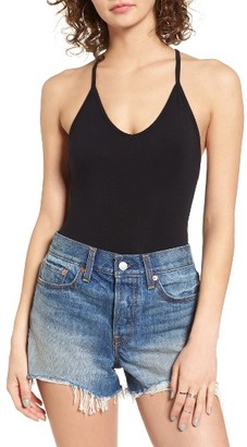 Women's Obey Strappy Back Bodysuit $42 thestylecure.com