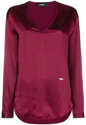 DSQUARED2 satin blouse