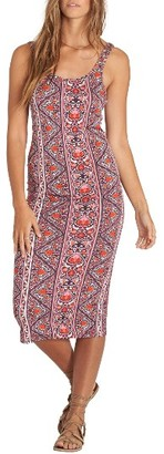 Women's Billabong Share Joy Body-Con Midi Dress $39.95 thestylecure.com