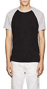 ATM Anthony Thomas Melillo Men's Slub Cotton T-Shirt - Black