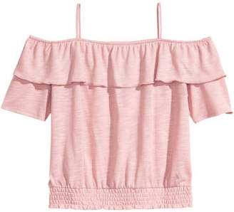 H&M Off-the-shoulder top - Pink