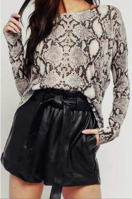 Olivaceous Dark Snake Sweater