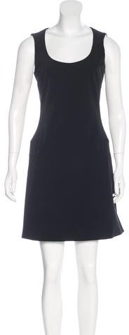 prada Prada Sleeveless Evening Dress