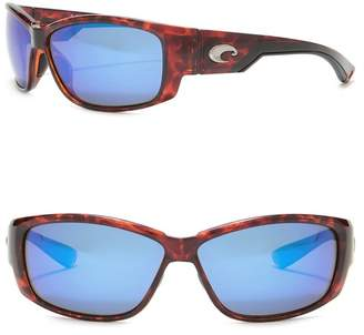 Costa del Mar Luke Polarized 61mm Wrap Sunglasses