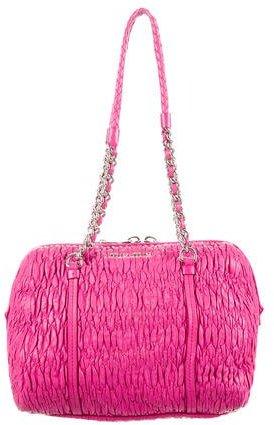 Miu MiuMiu Miu Matelassé Leather Bag