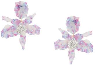 Lele Sadoughi jewel flower earrings