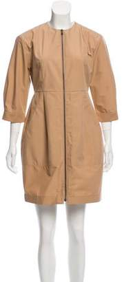 Tomas Maier Sheath Mini Dress