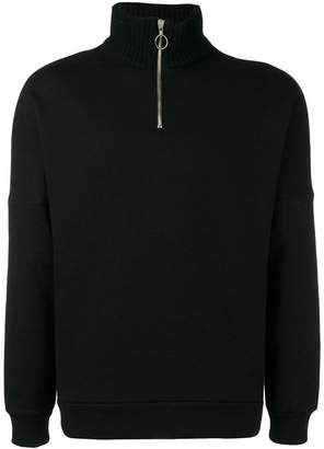 Low Brand zipped neck sweatshirt