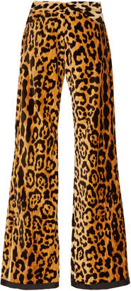 Bohemia Alix of Limited Edition Jerry Velvet Leopard Jeans