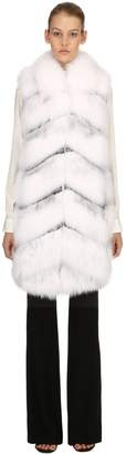 Giambattista Valli Fur Long Vest