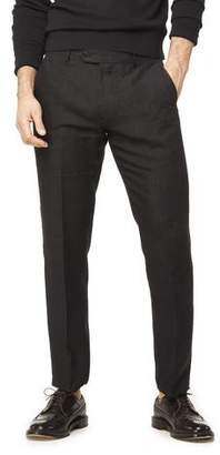 Todd Snyder Linen Tab Trouser in Black