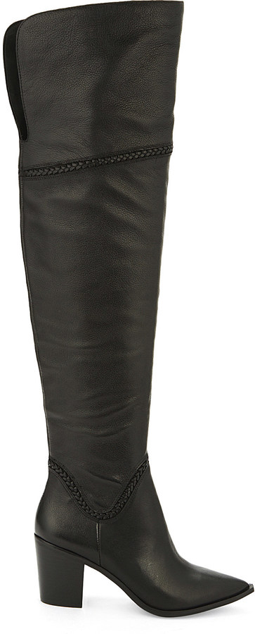 Aldo Aldo Olena leather over-the-knee boots