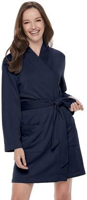 Croft & Barrow Women's Quilted Wrap Robe