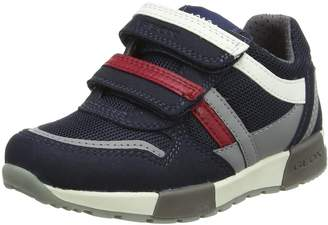 Geox Junior Alifier Boys Trainers 29 M EU/11 M US Little Kid Navy/Grey