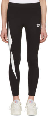 Reebok Classics Black Lost and Found Leggings