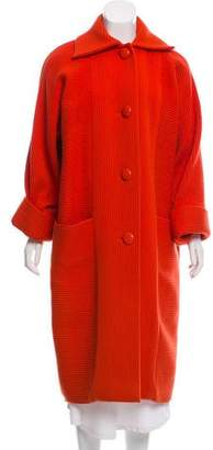 Lanvin Wool Long Coat