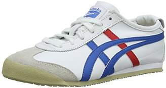 Asics Mexico 66, Unisex Adults' Low-Top Sneakers, White ( 0146), 12 UK ( EU)