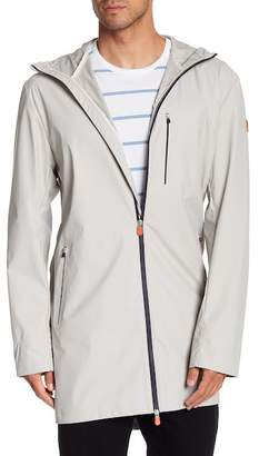 Save The Duck Long Hooded Raincoat