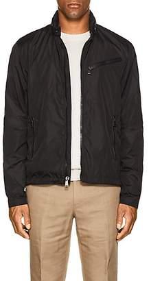 Ralph Lauren Purple Label Men's Tech-Fabric Biker Jacket - Black