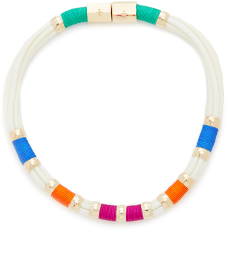 Holst + Lee Vacation Colorblock Necklace $95 thestylecure.com