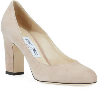 c13b6257959 Jimmy Choo Billie Sue Suede Pumps