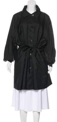 Sonia Rykiel Printed Knee-Length Coat