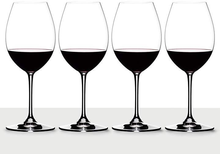 Riedel Vinum XL Syrah/Shiraz Glass, Set of 3 Plus Bonus Glass