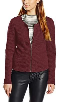 Vila CLOTHES Women's Vinaja New Short Jacket-noos Blazer, Grey (Medium Melange), (Manufacturer Size: X-Large)