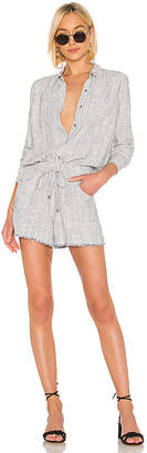 Splendid Railroad Stripe Romper
