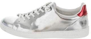Louis Vuitton Metallic Perforated Sneakers