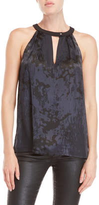 Chelsea And Walker Midnight Burnout Keyhole Top