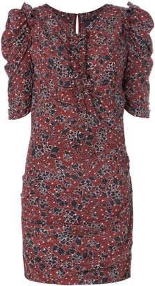 Isabel Marant ruched floral dress