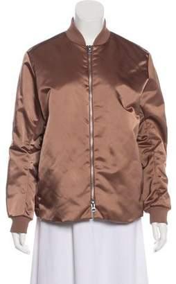 Acne Studios Silk Bomber Jacket