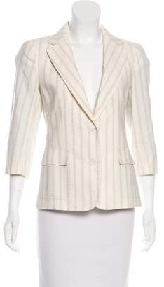 Boy By Band Of Outsiders Pinstripe Button-Up Blazer