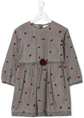 Stella McCartney Ladybird embroidery dress